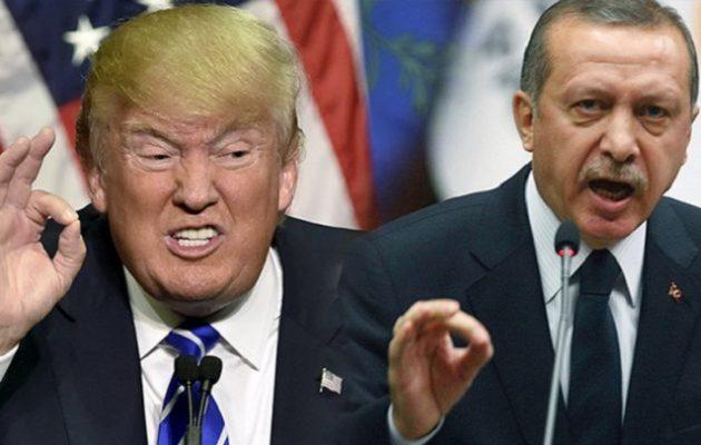Διπλωματικός πόλεμος ΗΠΑ-Τουρκίας – Οι δύο χώρες στις χειρότερες σχέσεις που είχαν ποτέ