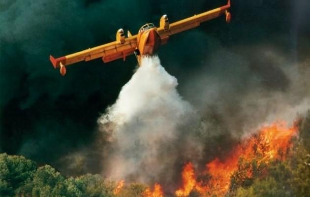 Ενισχύονται οι δυνάμεις της Πυροσβεστικής στη μεγάλη φωτιά στην Εύβοια
