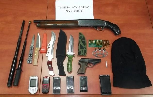 Ολόκληρο οπλοστάσιο βρέθηκε στο σπίτι παρολίγον δολοφόνου [εικόνα]
