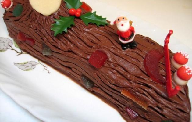 Buche de Noel ή Χριστουγεννιάτικος κορμός