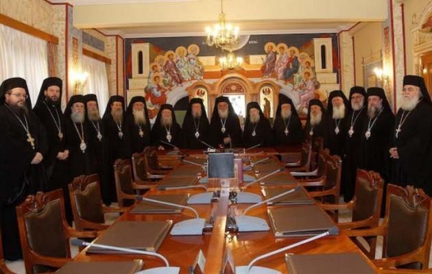 Αγωγή και μήνυση για συκοφαντική δυσφήμιση υπέβαλε η Ιερά Σύνοδος της Εκκλησίας της Ελλάδος