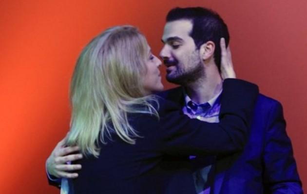 Το φιλί της Ρένας στον Γαβριήλ