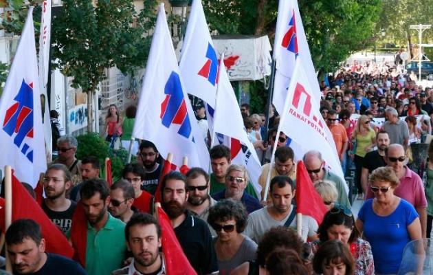 Το ΠΑΜΕ κατεβάζει τους κομμουνιστές στο δρόμο κατά της κυβέρνησης ΣΥΡΙΖΑ