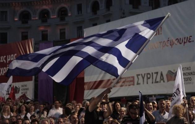 Πρώτο κόμμα ο ΣΥΡΙΖΑ σε νέα δημοσκόπηση