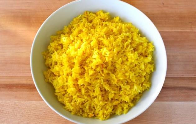 Ρύζι με κρόκο Κοζάνης