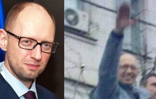 """Ναζί """"πρωθυπουργός"""" Ουκρανίας: """"Είμαστε στο χείλος της καταστροφής"""""""