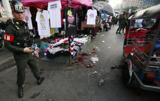 Εικόνες – σοκ από τη φονική έκρηξη στην Ταϊλάνδη