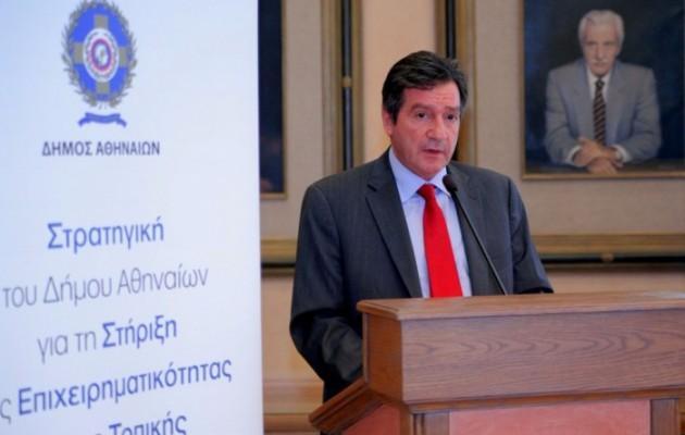 """Καμίνης: """"Παρέλαβα την Αθήνα στη χειρότερη φάση της μετά τη γερμανική κατοχή"""""""