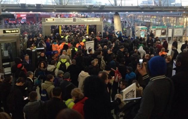 Χάος στο Λονδίνο από 48ωρη απεργία στο Μετρό