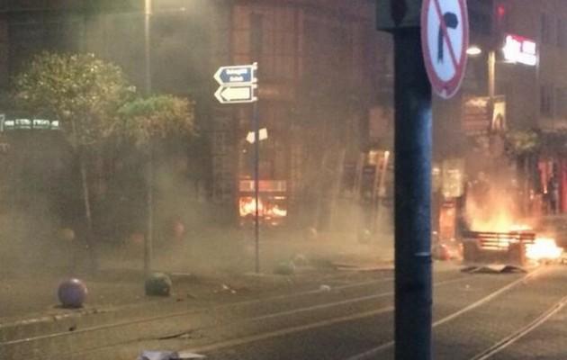 Οδομαχίες αστυνομικών – διαδηλωτών στην Κωνσταντινούπολη