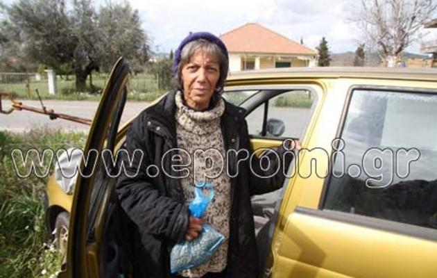 Έμεινε άστεγη, κοιμάται στο αυτοκίνητο, απέναντι από το μέχρι πριν λίγες ημέρες σπίτι της…