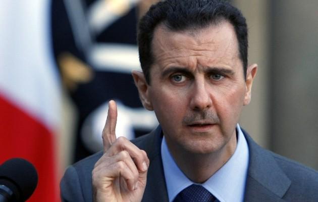 Ο Άσαντ της Συρίας δηλώνει αλληλέγγυος του Πούτιν