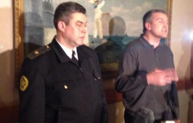 Το Κίεβο κατηγορεί τον ναύαρχο Μπερεζόφσκι για εθνική προδοσία!