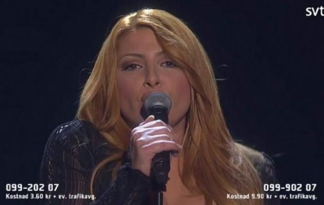 Παπαρίζου: Πέρασε στον Σουηδικό τελικό της Eurovision – Τα πρώτα της λόγια
