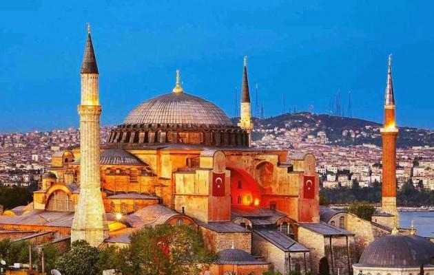 Η Βρετανία φέρεται να λέει ότι η Αγία Σοφία είναι «κυριαρχικό θέμα» της Τουρκίας
