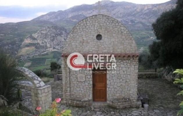 """Ιερόσυλοι τα έκαναν """"γυαλιά καρφιά"""" σε ναό στην Κρήτη"""