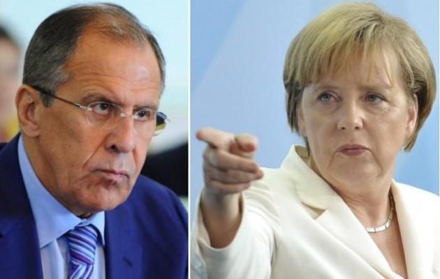 Προειδοποίηση Μέρκελ για οικονομικές κυρώσεις – θα υπερασπιστούμε τα συμφέροντα των Ρώσων, λέει ο Λαβρόφ