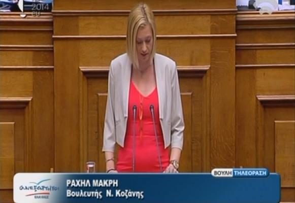 """Ραχήλ Μακρή: """"Τράπεζες μετέφεραν στα νησιά Κέυμαν 25 δισ. ευρώ της ανακεφαλαιοποίησης!"""""""