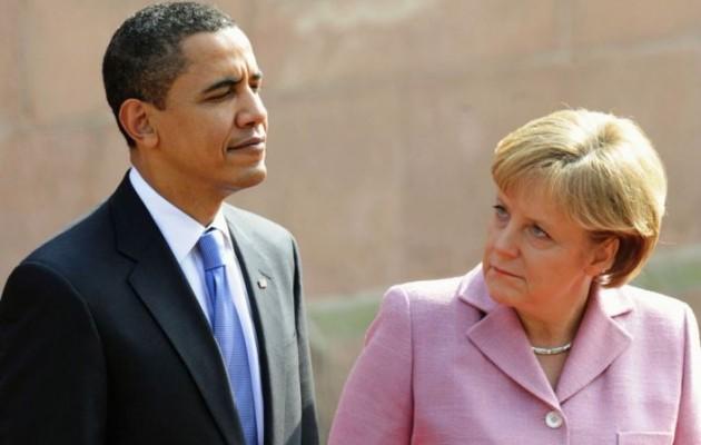 Λύση για την Ουκρανία συζήτησαν Ομπάμα – Μέρκελ