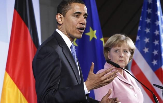 Ομπάμα – Μέρκελ: Εντελώς παράνομη η εισβολή Ρωσικών δυνάμεων στην Κριμαία