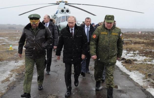 Εντολή Πούτιν να επιστρέψουν στις βάσεις τους τα ρωσικά στρατεύματα
