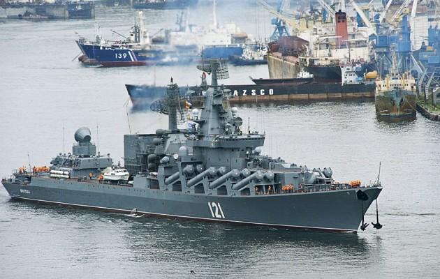 Τα Ρωσικά πλοία μπλοκάρουν τα στενά της Σεβαστούπολης στην Κριμαία