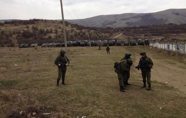 """""""3.000 Ουκρανοί στρατιώτες αυτομόλησαν και δήλωσαν πίστη στις Ρωσικές αρχές της Κριμαίας"""""""