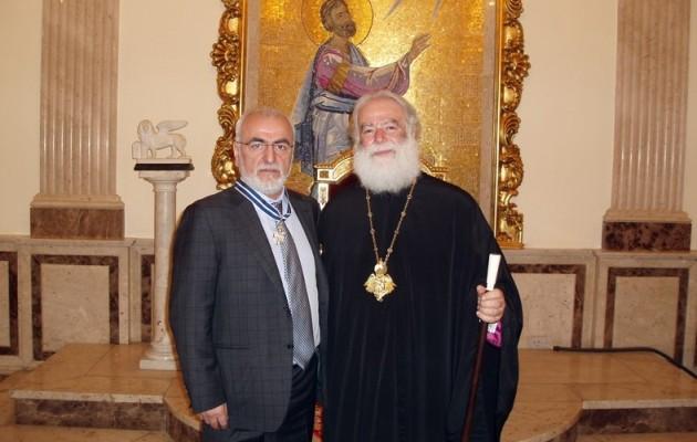 Ο Ιβάν Σαββίδης στην Αλεξάνδρεια – Συνάντηση με τον Πάπα και Πατριάρχη Θεόδωρο