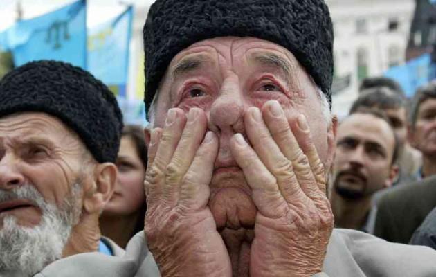 """Οι Ρώσοι της Κριμαίας προσεγγίζουν τους Τατάρους (Τούρκους): """"Θα σας δώσουμε αυτά που ποτέ δεν είχατε"""""""