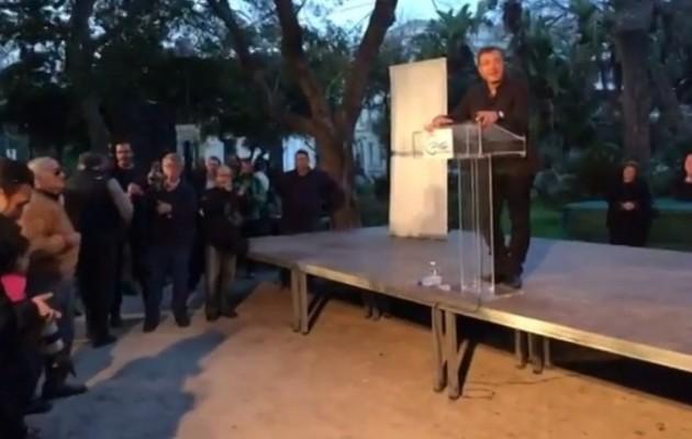 ΒΙΝΤΕΟ: Κράξιμο επί της ουσίας στον Στ. Θεοδωράκη στα Χανιά!
