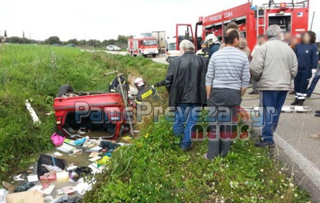Δεν το χωράει ο νους: Ντελαπάρισε το αυτοκίνητο και πνίγηκαν σε μια σπιθαμή νερό