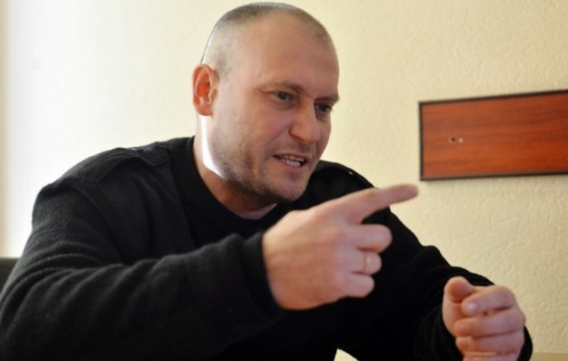 Ρωσία: ένταλμα σύλληψης του ηγέτη της ουκρανικής ακροδεξιάς
