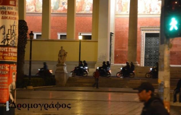 Εκεί που ήταν κάποτε άσυλο τώρα… κόβουν βόλτα μηχανάκια της αστυνομίας