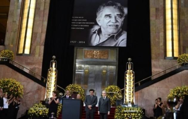 Κολομβία και Μεξικό τίμησαν τον Γκαμπριέλ Γκαρσία Μάρκες
