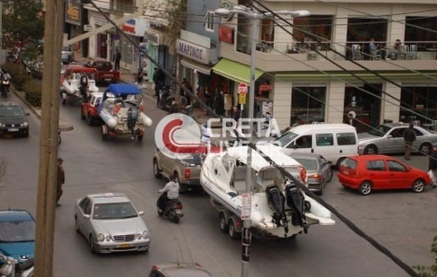 «Σκαφάτη» διαμαρτυρία για τα χημικά της Συρίας