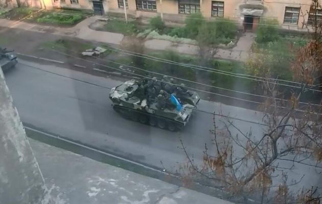 Ουκρανοί στρατιώτες αυτομόλησαν στους Ρώσους
