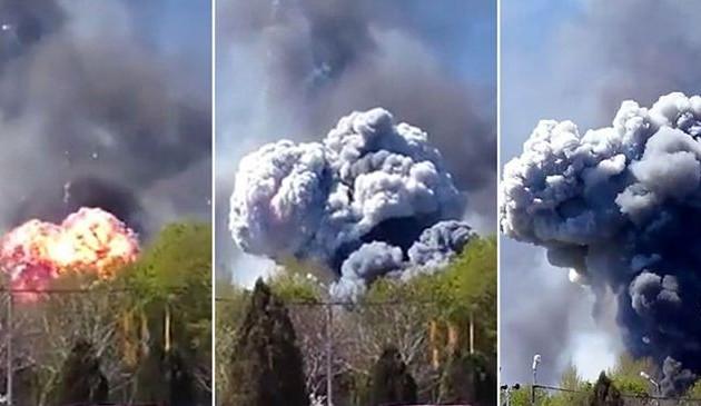 Οι Ρώσοι κατέρριψαν ελικόπτερο στο Κραματόρσκ (βίντεο)