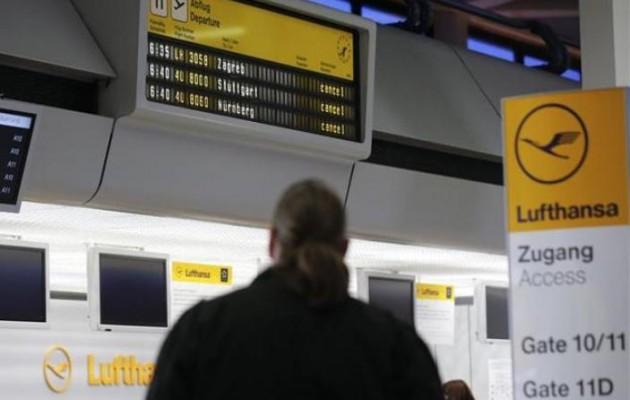 Δεύτερη ημέρα απεργίας στη Lufthansa, εκατοντάδες ακυρώσεις πτήσεων