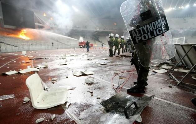 Πρωτοφανή μέτρα ασφαλείας για τον τελικό Κυπέλλου