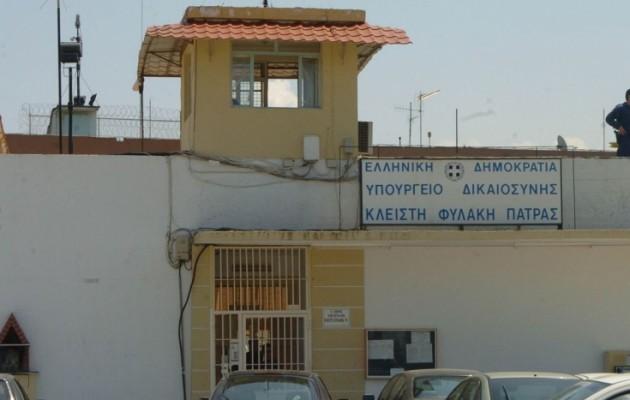 Αλβανός κρατούμενος δολοφονήθηκε στις φυλακές της Πάτρας