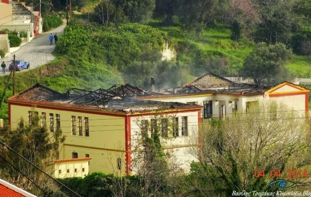 Σοκ στην Κύμη: Αυτοκτόνησε ο καθηγητής που είχε κάψει το σχολείο