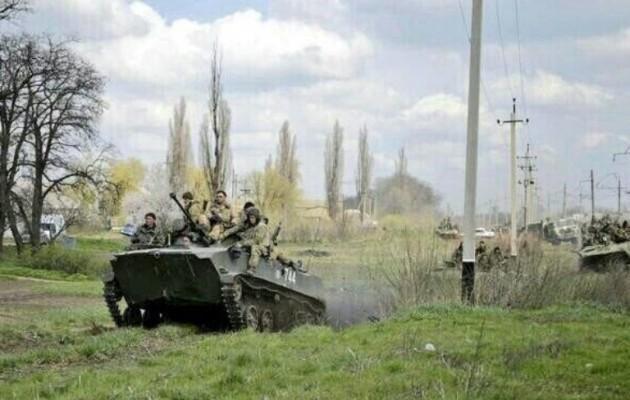 Τρεις τραυματίες αυτονομιστές από σφαίρες Ουκρανών στρατιωτών