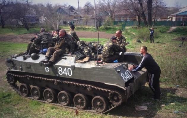Δύο εβδομάδες υποσιτιζόμενοι οι Ουκρανοί στρατιώτες