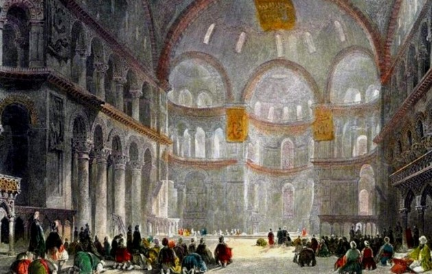 Προκαλεί ο Ερντογάν – Παίζει επικίνδυνα παιχνίδια με την Αγία Σοφία