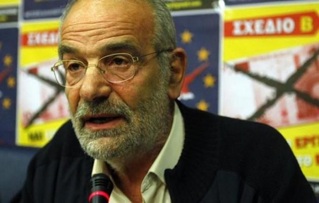 Αλαβάνος: «Ακύρωση του δημοψηφίσματος η αποδοχή της πρότασης Γιουνκέρ»