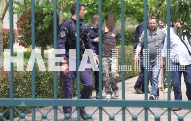 Συνελήφθη και ο πέμπτος δραπέτης από τα κρατητήρια στον Πύργο