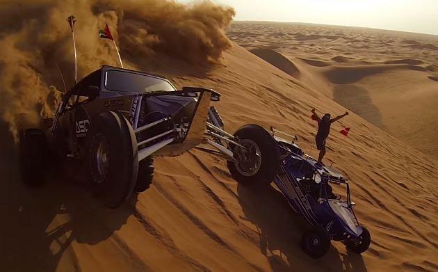 Extreme sports στην έρημο για πλούσιους Άραβες (βίντεο)