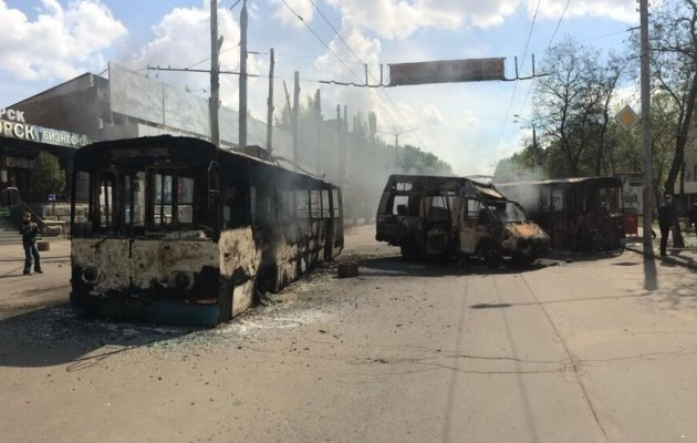 Σφαγή στο Κραματόρσκ: 10 ρώσοι νεκροί και 40 τραυματίες (βίντεο)