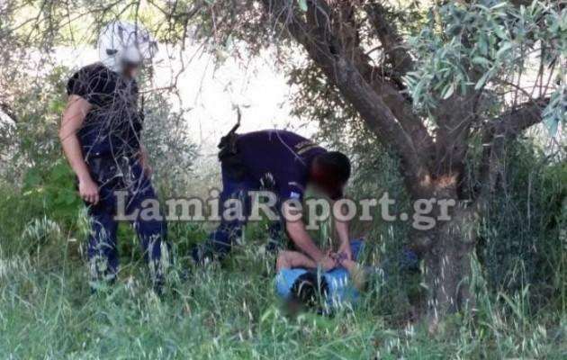 Καρέ-καρέ η καταδίωξη και σύλληψη δύο ιερόσυλων στα Καλύβια