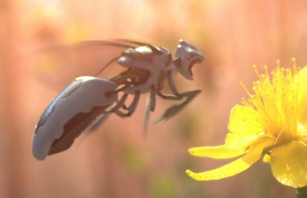 Οι μέλισσες – ρομπότ θα αφυπνίσουν την οικολογική μας συνείδηση; (βίντεο)
